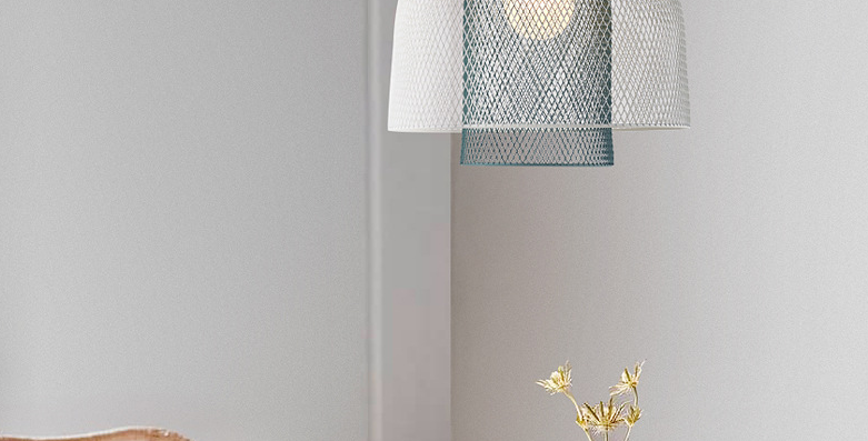 LED Metal Double Nets Pendant Light