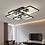 Thumbnail: LED Modern Black & White Living Room Ceiling Light