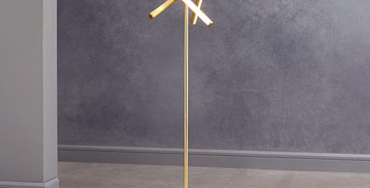 LED Triple Lines Modern Floor Lamp
