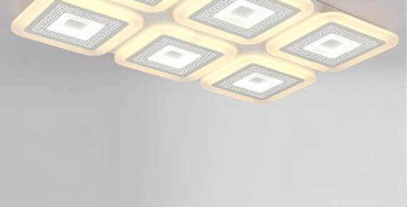 LED Acrylic Square Modern Chinese Design Ceiling Light