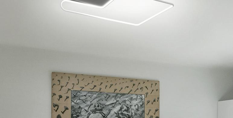 LED Modern CLIPLUS Ceiling Light