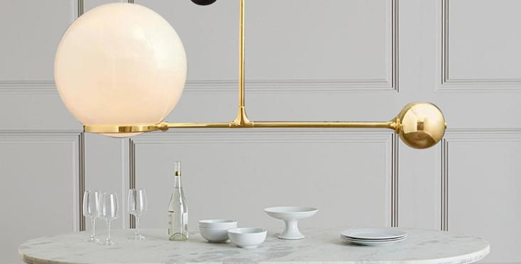 LED Creative Modern Pendant Light Black & Gold