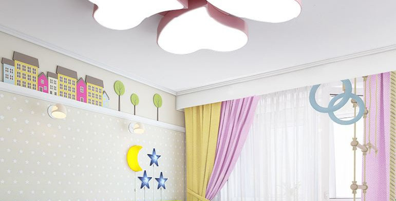 LED Acrylic Heart Shape Ceiling Light