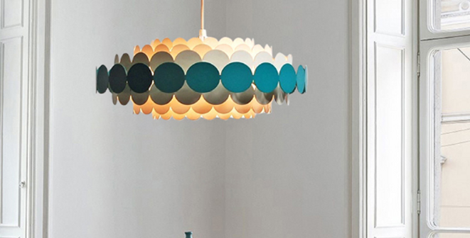 LED Petal Metal Chandelier Pendant