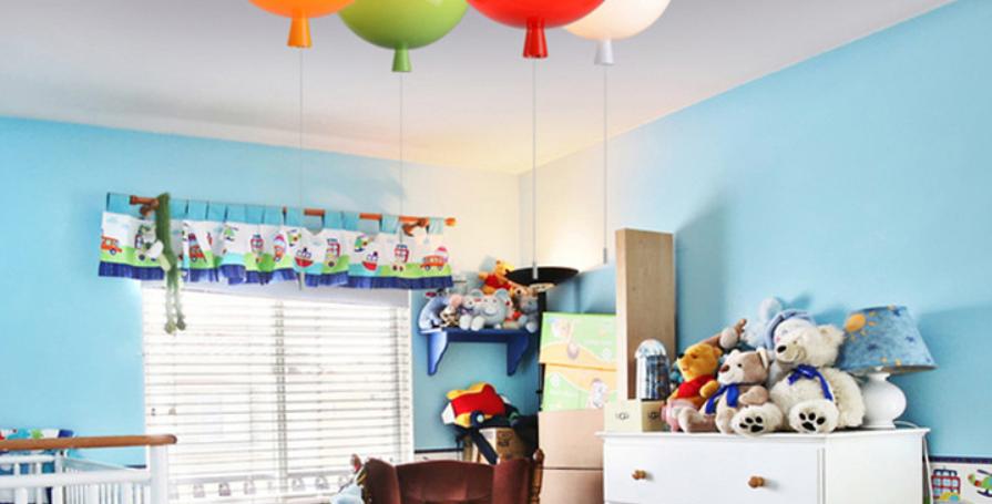 LED Multi-Color Balloon Ceiling Light