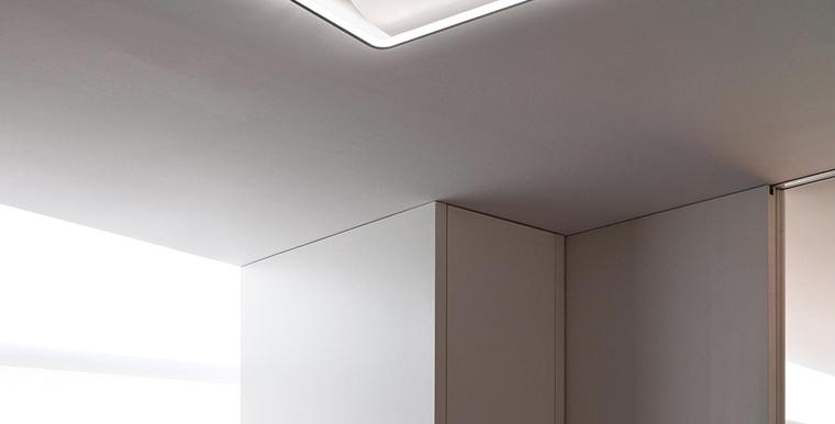 LED Modern Arc Frame Ceiling Light