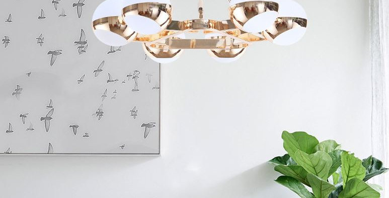 LED Postmodern North European style Chandelier