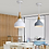 Thumbnail: LED North European Macaroon Pendant Light