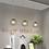 Thumbnail: LED Golden Metal Net Pendant Light