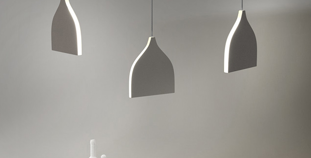 LED Modern Silhouette Pendant Light