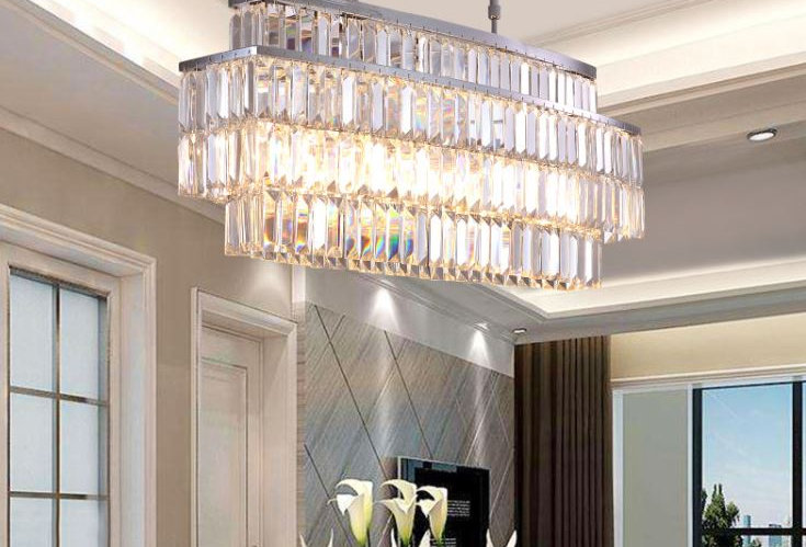 LED Crystal Luxury Chandelier