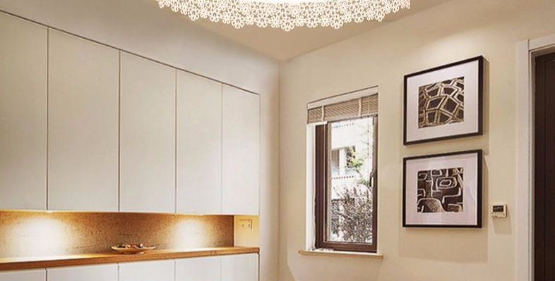 LED Flower Metal Acrylic Ceiling Light