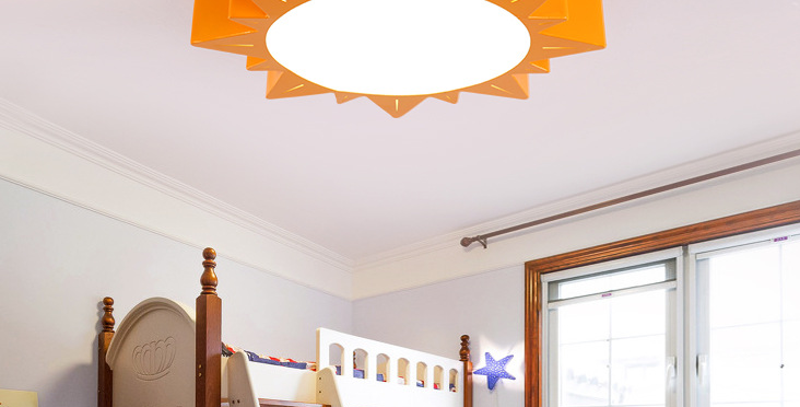 LED Flower Pendant/Ceiling Light for Children's Room