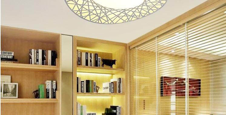 LED Bird's Nest Acrylic Metal Ceiling Light