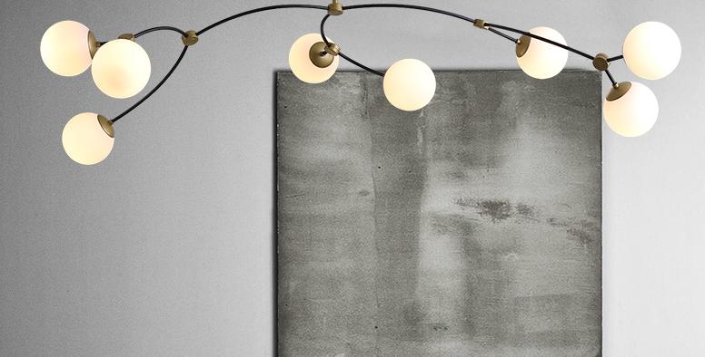 LED Creative Modern Molecular Design Pendant Light