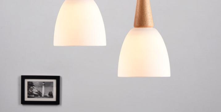 LED Milky White Decorative Pendant Light