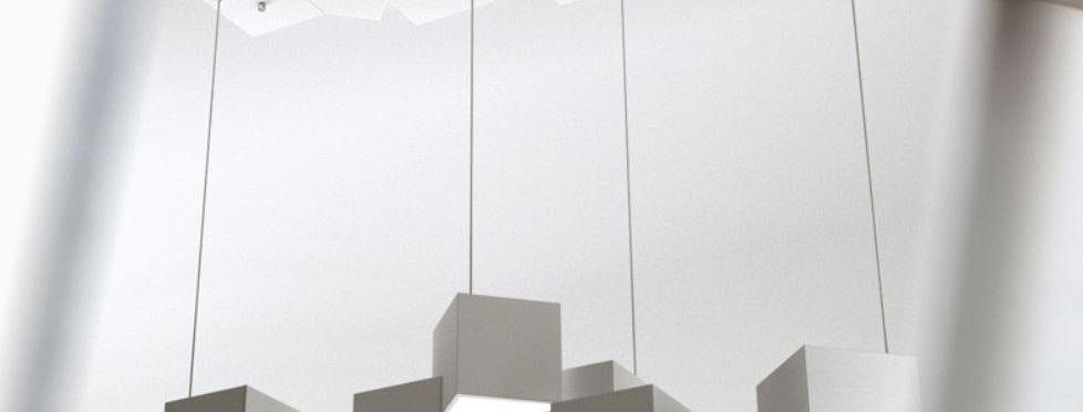 LED Rubik's Cube Chandelier Pendant Light