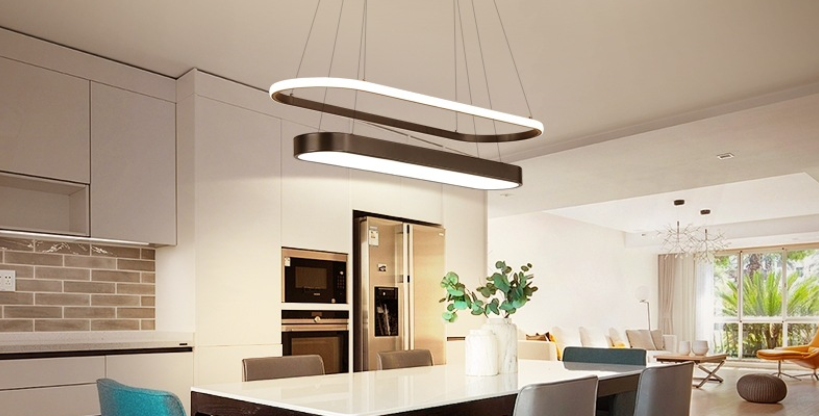 LED OnePlus1 Modern Pendant Light