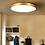Thumbnail: LED Modern Brass Ceiling Light