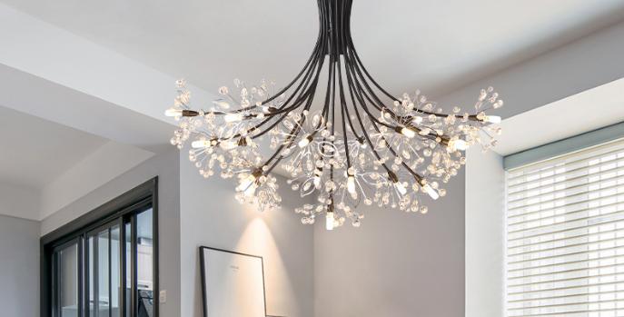 LED Bouquet Chandelier Light