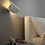 Thumbnail: LED Simple Curved Wall Light