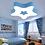 Thumbnail: LED Double Stars Children Ceiling Light