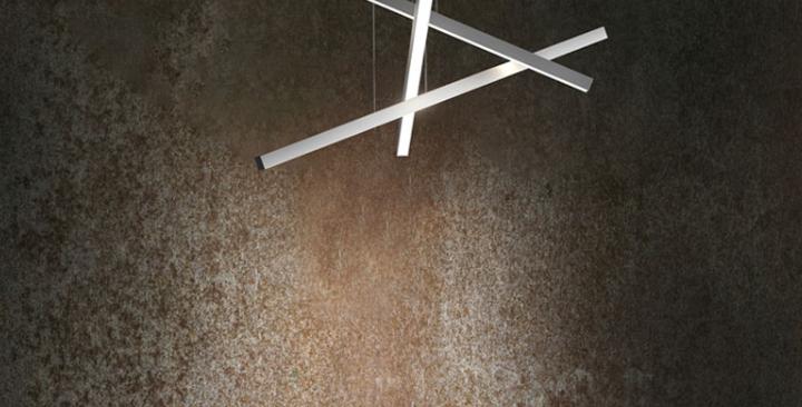 D38 LED Linear Office Pendant Light