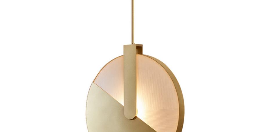 LED Semi-Circle Modern Creative Pendant Light