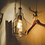 Thumbnail: LED Simple Glass Retro Pendant Light