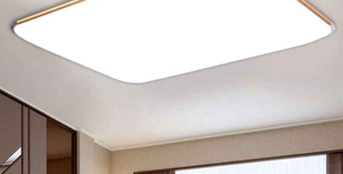 (SALE) LED Bright+ Basic Rectangle Ceiling Light