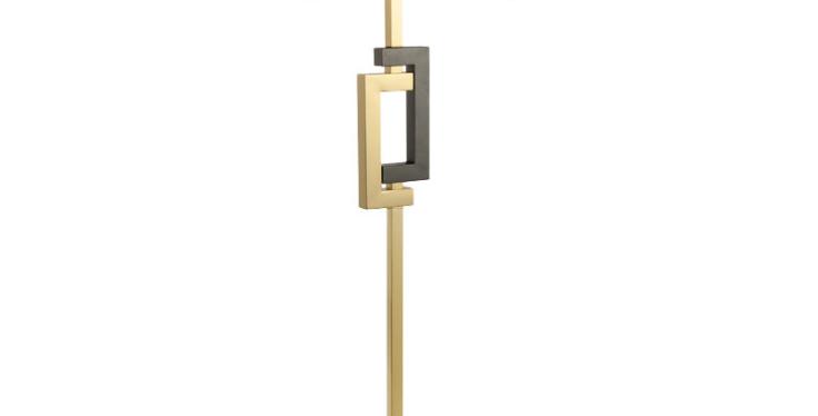 LED Classic Gemini Cloth Floor Lamp