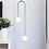 Thumbnail: LED Double Glass Pendant Light