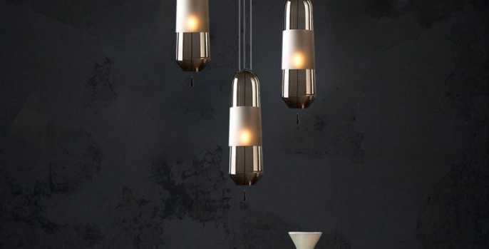 LED Modern Mini Glass Pendant Light
