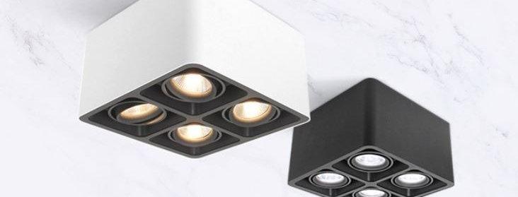 LED Four Lights Box Mounted Downlight Spot Light