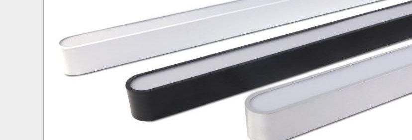 LED Office Linear Light Round Edge