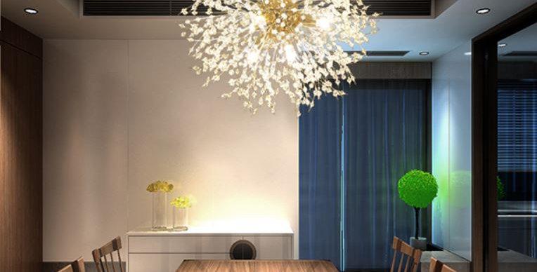 LED Modern Dandelion Pendant Light