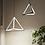 Thumbnail: LED Pyramid Design Pendant Light