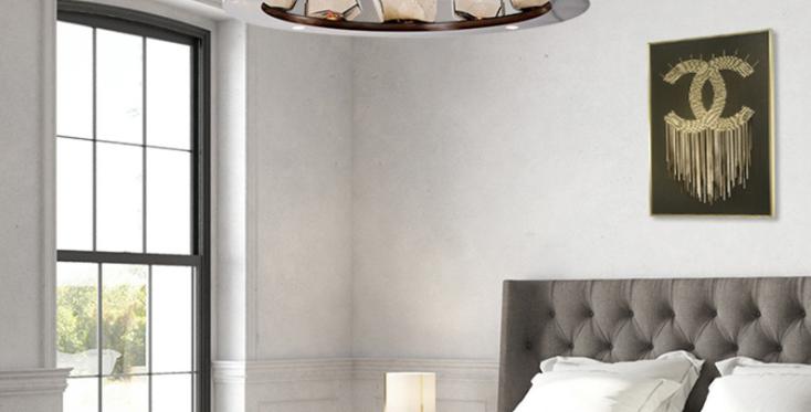 LED North European Modern Glass Round Pendant Light