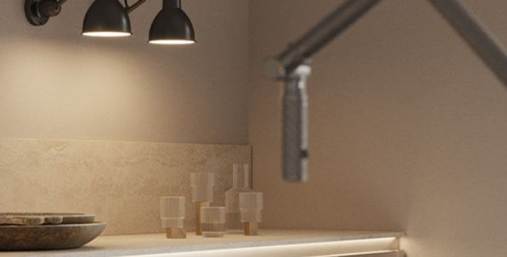 LED Long Short Arm Retro Metal Wall Light