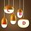 Thumbnail: LED Chestnut Pendant Light for Restaurant Dining Room
