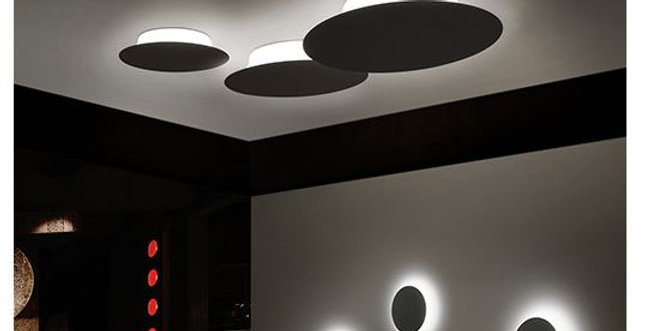 LED Minimalism Round Wall Light Free Combination