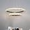 Thumbnail: LED Modern Crystal Halo Pendant Light