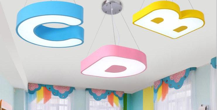 LED Alphabet and Number Children Light for kids kindergarten