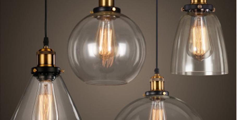 LED Glass Pendant for Bar Restaurant Living Room