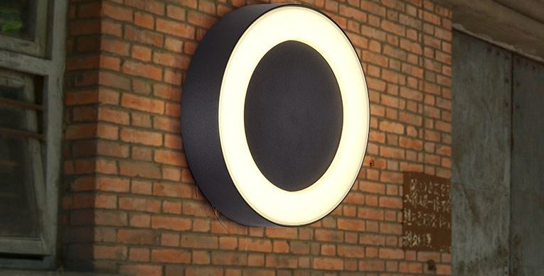 IP65 LED Wall Light with Round Square Oval Design