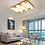 Thumbnail: LED Wooden Base Piano Key Design Ceiling Light