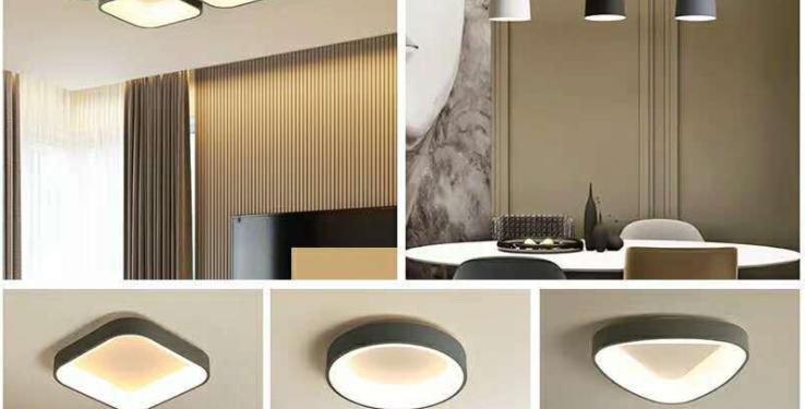LED Three Bedroom Simple Modern Theme Package