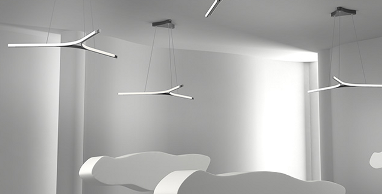 LED Modern Y Shape Office Light