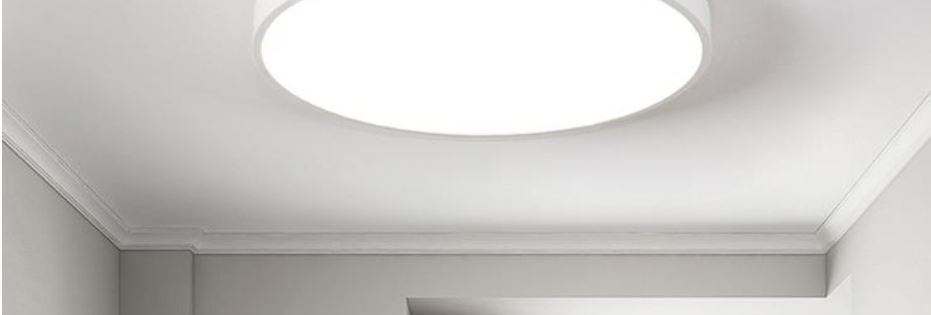 LED Ultra-thin Minimalism Ceiling Light Square and Rectangle Design