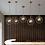 Thumbnail: LED Creative Decorative Metal & Glass Pendant Light